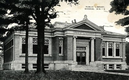 Postcard of Ludlow Building